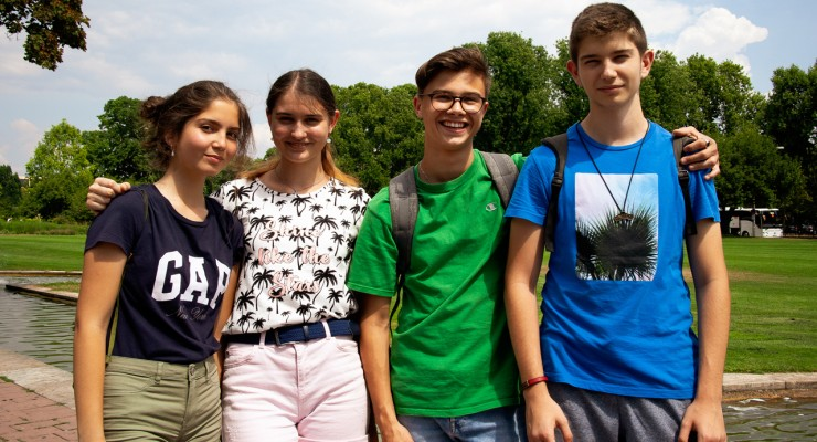 Tabără Educațională Germania Deutschinstitut Sprachschule Wiesbaden